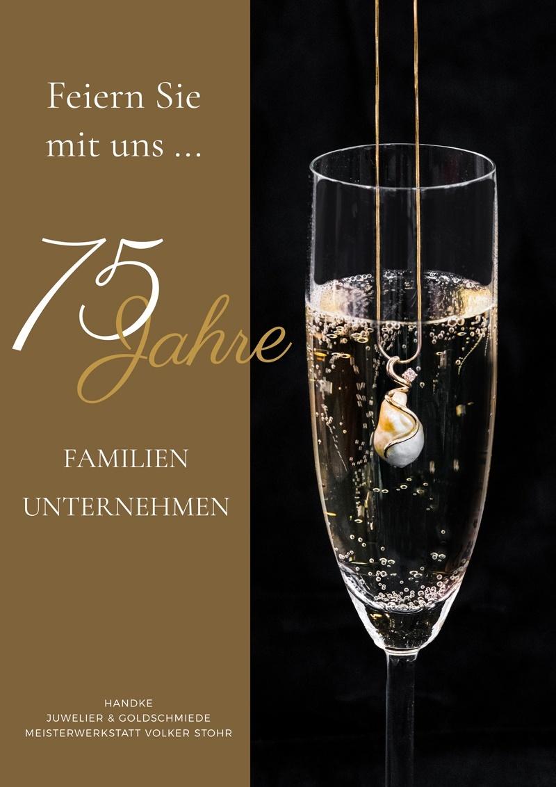 75 Jahre Juwelier Handke in Freital